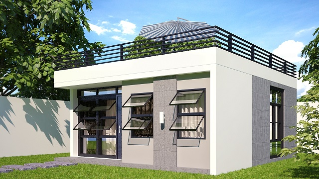 Expandable housing philippines philippine construction for Up and down house design in the philippines