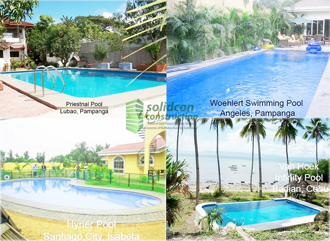 Swimming pool construction company philippines for Swimming pool installation companies